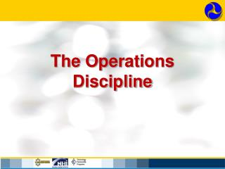 The Operations Discipline