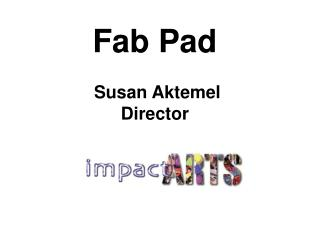 Fab Pad   Susan Aktemel Director