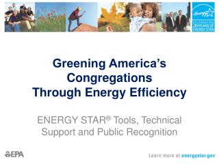 Greening America's Congregations  Through Energy Efficiency