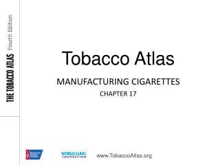 MANUFACTURING CIGARETTES CHAPTER 17