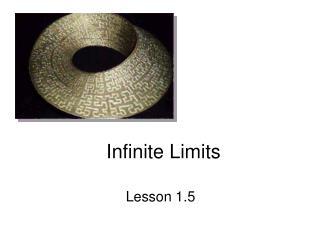 Infinite Limits