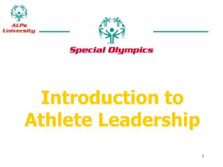Introduction to Athlete Leadership