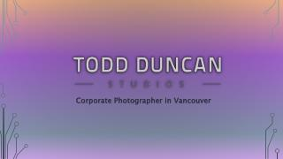 Corporate Photography Vancouver