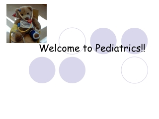 Welcome to Pediatrics