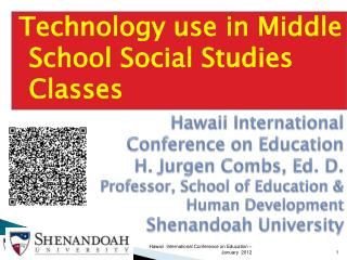 Technology use in Middle School Social Studies Classes