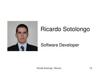 Ricardo Sotolongo
