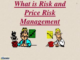 What is Risk and Price Risk Management