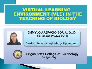 Surigao  State College of Technology Surigao  City