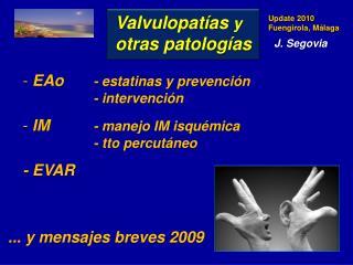 EAo -  estatinas  y prevención- intervención