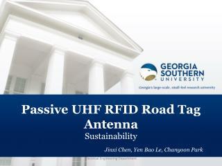 Passive  UHF RFID Road Tag Antenna