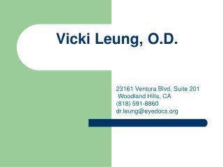 Vicki Leung, O.D.