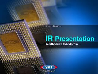 SangHwa Micro Technology Inc.