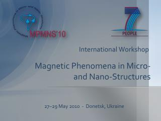 Magnetic Phenomena in Micro- and  Nano -Structures