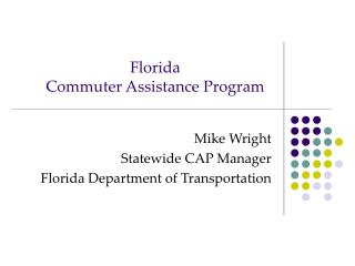 Florida Commuter Assistance Program