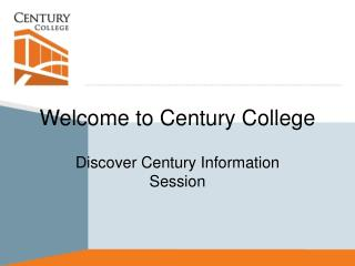 Welcome to Century College