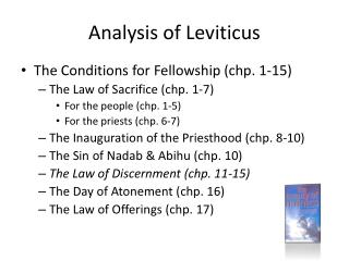 Analysis of Leviticus