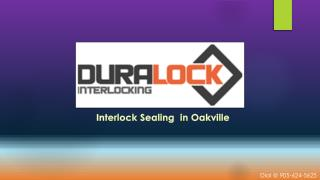 Interlock Sealing Oakville