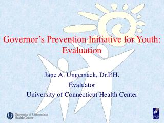 Governor's Prevention Initiative for Youth: Evaluation
