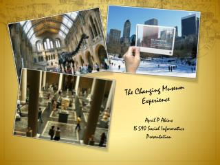 The Changing Museum Experience