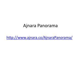 Ajnara Panorama Apartments call at 012 422 8777