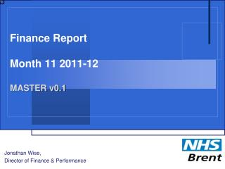 Finance Report Month 11 2011-12 MASTER v0.1