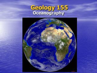 Geology 155