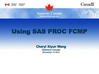 Using SAS PROC FCMP