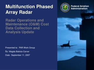 Multifunction Phased Array Radar