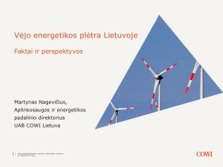 V ėjo energetikos plėtra Lietuvoje Faktai ir perspektyvos