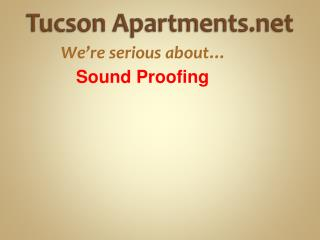 Tucson Apartments