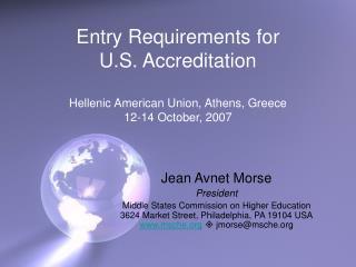 Jean Avnet Morse President