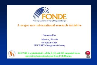 A major new international research initiative