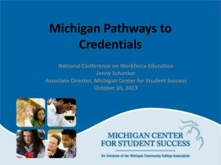 Michigan Pathways to Credentials