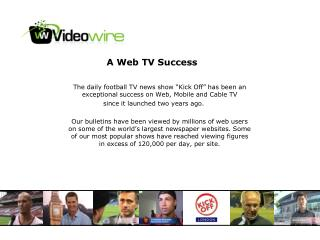 A Web TV Success