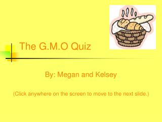 GMO Quiz to download