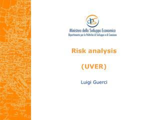 Risk analysis (UVER)