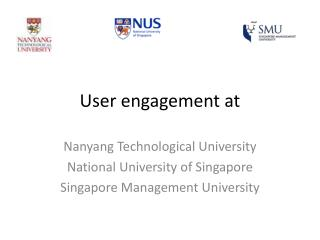 User engagement at