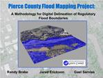 Pierce County Flood Mapping Project: