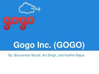 Gogo Inc. (GOGO)