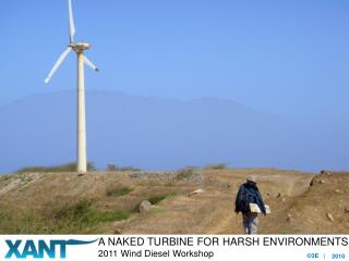 A Naked turbine for harsh environments
