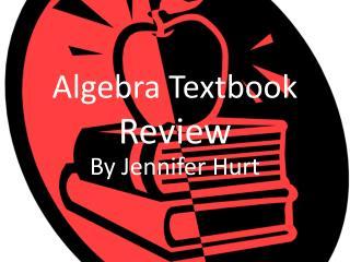 Algebra Textbook  Review