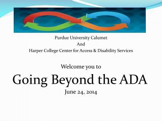 Going Beyond the ADA