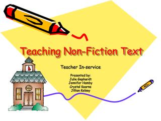 Teaching Non-Fiction Text