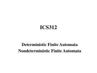 ICS312