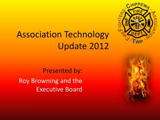 Association Technology Update 2012