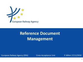 Reference  Document Management
