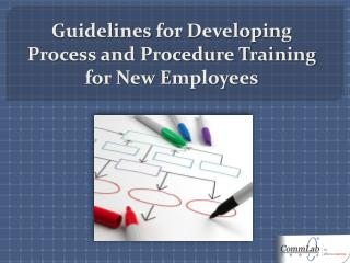 Guidelines for Developing Process and Procedure Training for