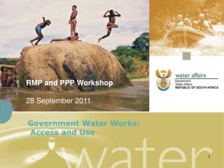 Government Water Works:  Access and Use