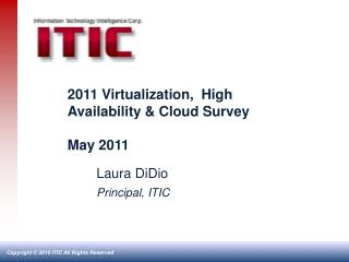 2011 Virtualization,  High Availability & Cloud Survey May 2011