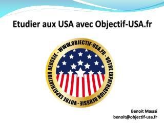Etudier aux USA avec Objectif-USA.fr